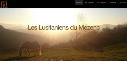 Elevage de chevaux des Lusitaniens duMezenc