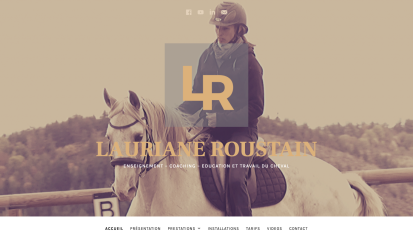 Lauriane Roustain Equitation